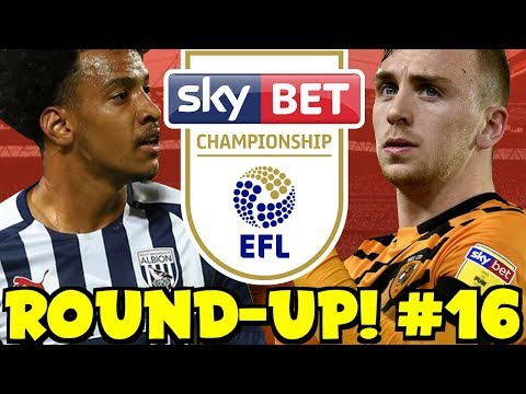 The Championship Round-Up! #16 + My Midweek Score Predictions! BIG GAMES, GOALS & MORE!