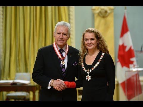 Tragically Hip members, Alex Trebek receive Order of Canada