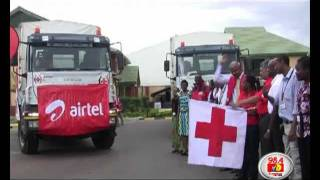 Airtel and Red Cross flag off food to North Eastern Province