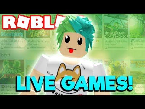 ROBLOX FANS PICK WHAT I PLAY! CRAZY RANDOM GAMES!
