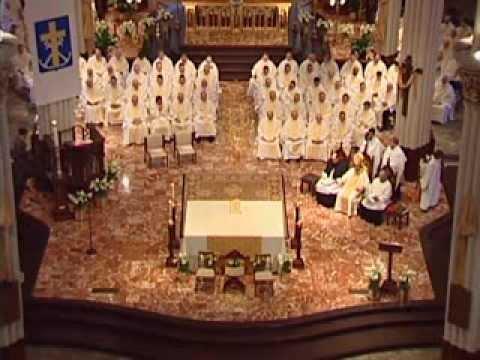 Holy Cross Ordination Mass 2014