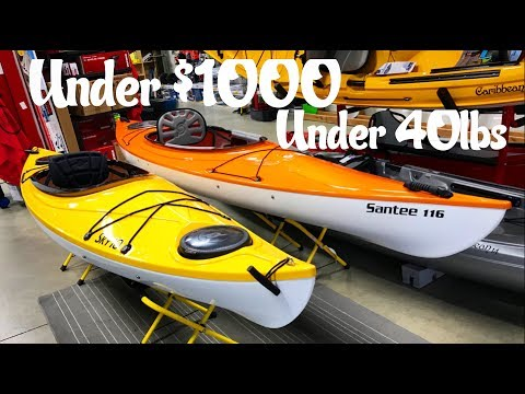 Light Weight Kayaks under $1000 and 40lbs - YouTube