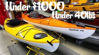 Light Weight Kayaks under $1000 and 40lbs