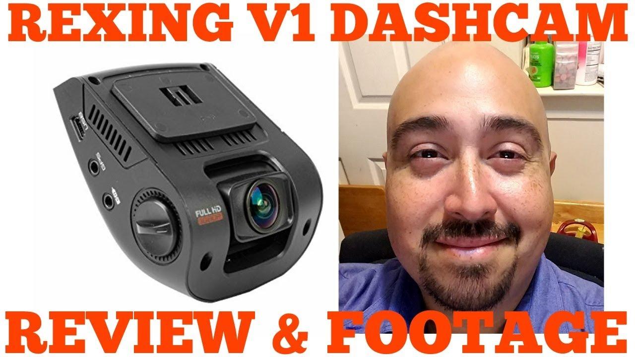 rexing v1 dashcam review test footage 2017 youtube. Black Bedroom Furniture Sets. Home Design Ideas