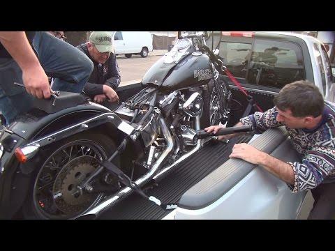1985 softail #101 roadside repair starter & battery fxst evo flst evolution harley by tatro machine