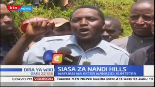 Wafuasi wa Alfred Keter wamtetea Nandi Hills