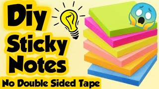 Diy Sticky note/How to make note pad/Sticky notes without double sided tape/Homemade Stationary item screenshot 4