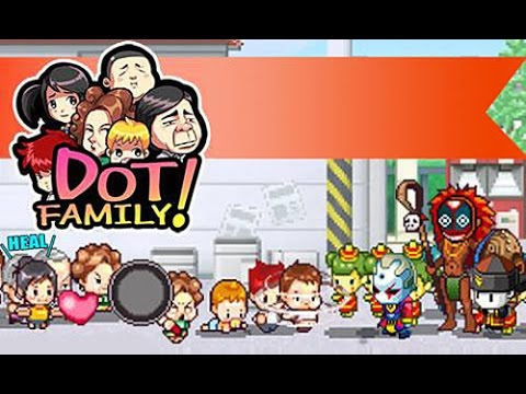 Dot family! Heroes : Android Game