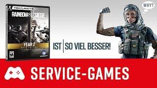 Warum ist Rainbow Six Siege heute so viel besser? Und was ist Games as a Service?