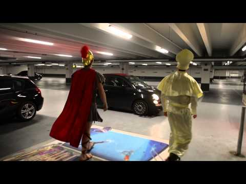 Copenhagen Airport surprises parking contest winner, Klavs