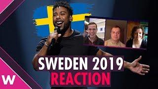 John Lundvik wins Melodifestivalen | Results reaction | Sweden Eurovision 2019