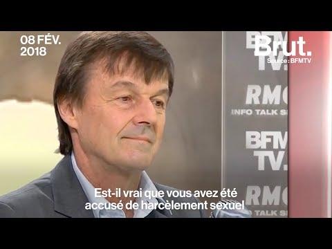 Harcèlement sexuel et plainte contre lui : Nicolas Hulot s'explique