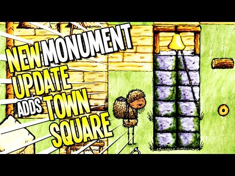 One Hour One Life: NEW UPDATE! LETS BUILD A MONUMENT FOR A TOWN SQUARE- One Hour One Life Gameplay