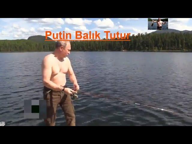 Prezitent Putin baliq tutur