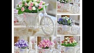 """Композиция """"Велосипед""""  www.roza5let.ru"""