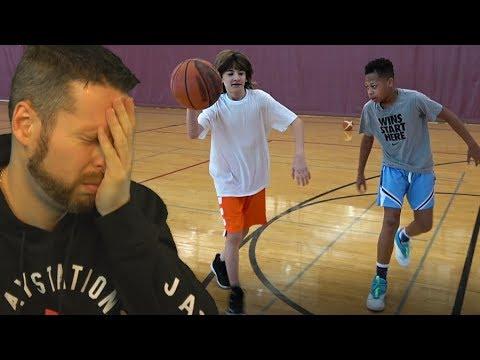 Reacting to DonJ vs Fungas IRL 1 vs 1 Basketball