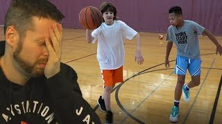 Reacting to DonJ vs Fungas IRL 1 vs 1 Basketball