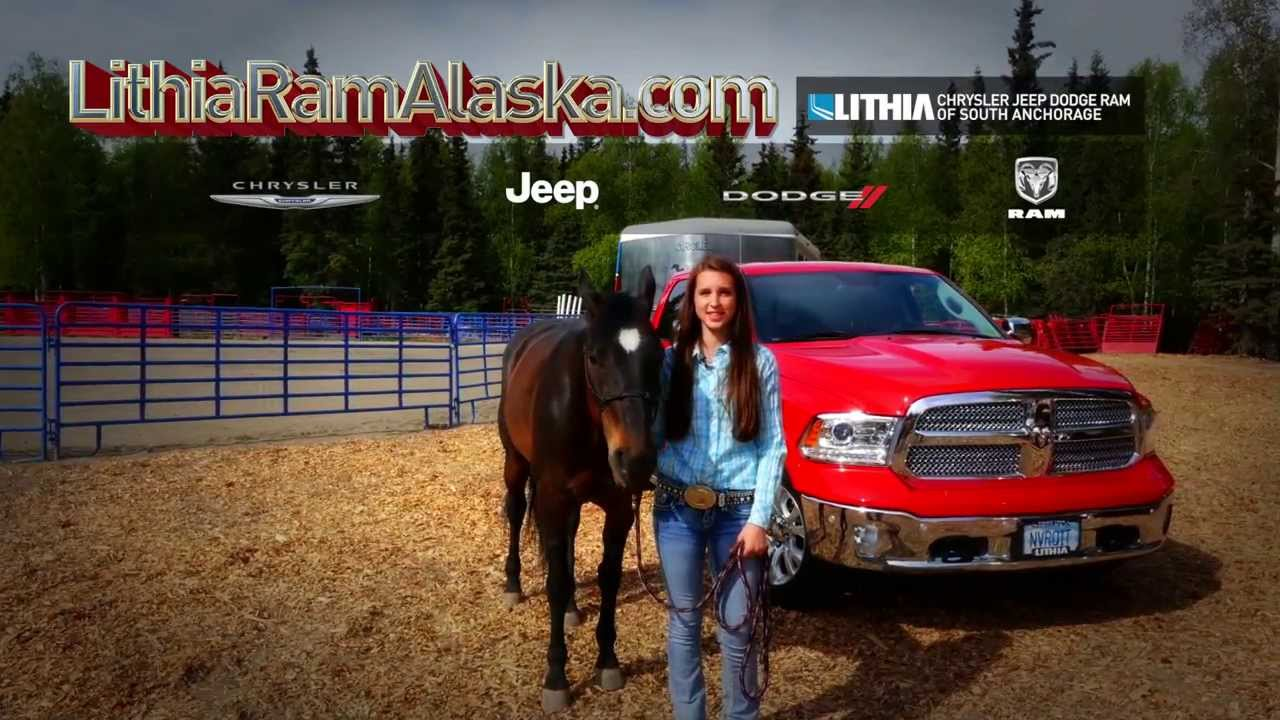Lithia Dodge Anchorage >> Alaska Girls Get It Done With Ram Trucks! - YouTube