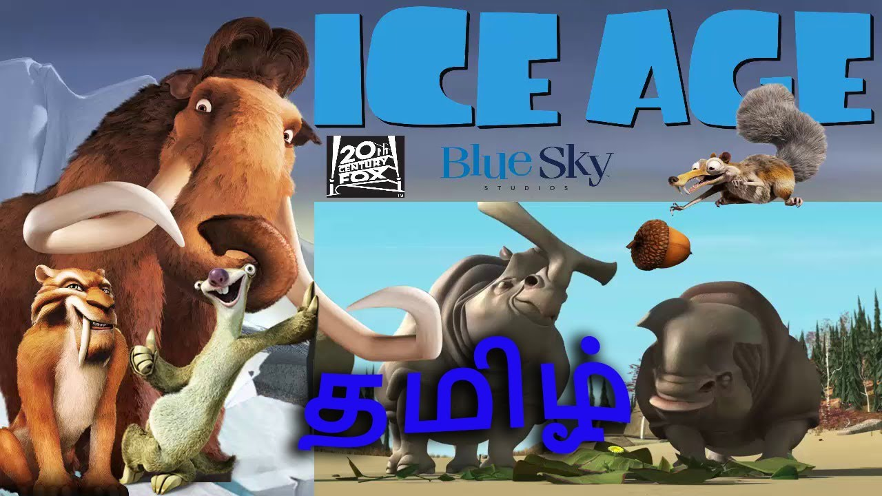Download Ice Age 2002   Tamil   Part - 1  Sid and Manny get meet
