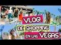 VLOG: De shopping en LAS VEGAS + Les muestro la ciudad + Room tour! | Fashion Diaries