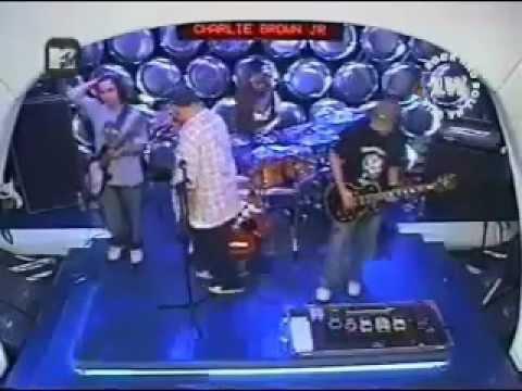 Charlie Brown Jr - Não Viva Em Vão (Jornal da MTV 2007)