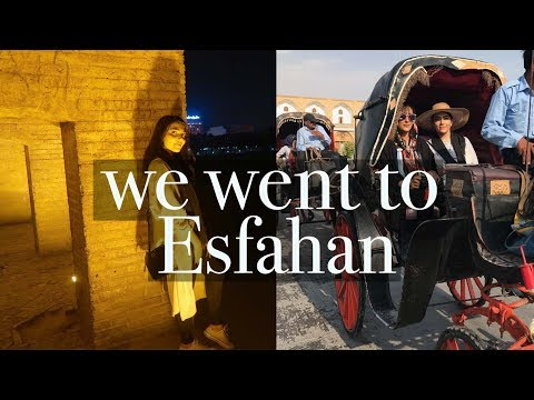 Exploring Esfahan | Iran Holiday Vlog 2017 | PART EIGHT