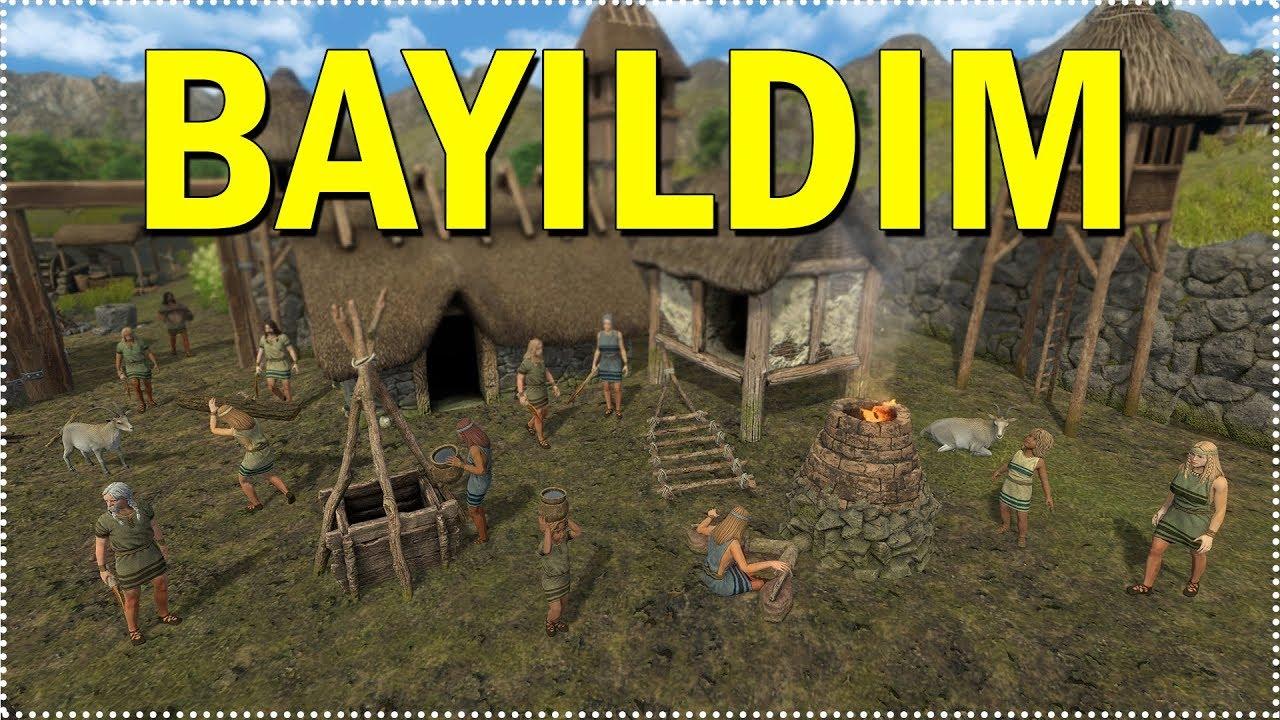 10 000 yil once gecen strateji oyunu dawn of man turkce