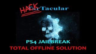 PS4 jailbreak 5.05 COMPLETELY OFFLINE SOLUTION (cache)