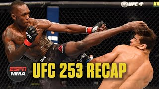 UFC 253 Recap: Israel Adesanya beats Paulo Costa to retain title | ESPN MMA