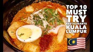 Ultimate Kuala Lumpur Food Trip: Top 10 Must Try Restaurants Tour Malaysia screenshot 1