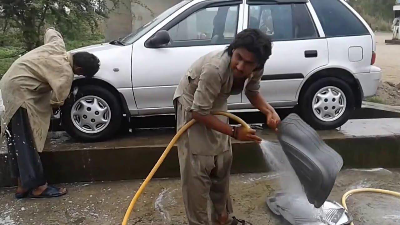 Local Car Wash >> Local Car Wash Setup In Sargodha Pakistan