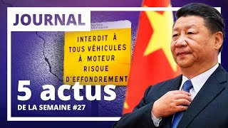 Macronie - Industrie - Europe - Chine/États-Unis - Airbus : Les 5 actus de la semaine #27