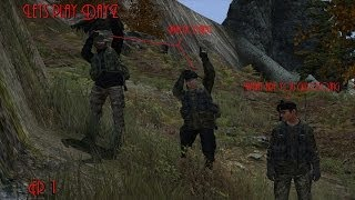 The Clockwork of DayZ With friends Ep 1 Never ever hit someone with an axe