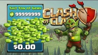 How to hack clash of clans latest version