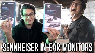 NEW Sennheiser In-Ears!! (IE 100 Pro & IE 400 Pro Review)