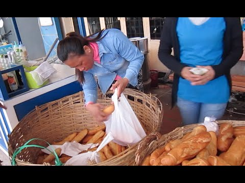 Traveling on TukTuk along National Road 3 in Cambodia | Heng Cheng Bread Shop