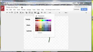 Create a Draw (Google Draw) Template to Share with Students