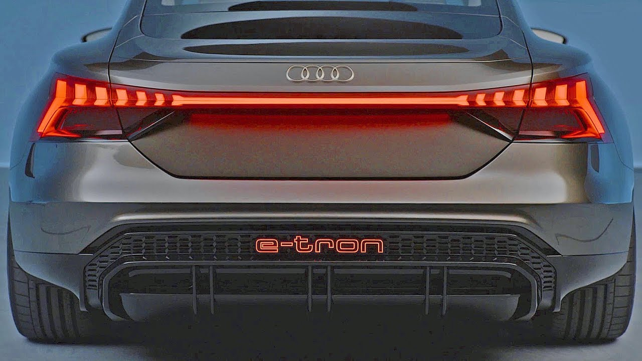 Audi E Tron Gt 2021 Tesla Model S Killer Youtube