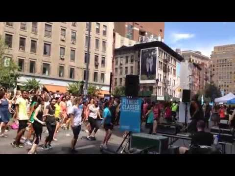 NYC Fitness : annual Summer Streets extravaganza