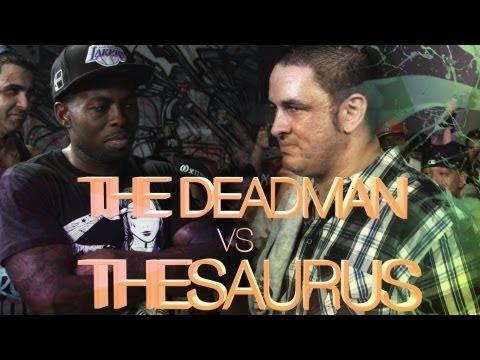 KOTD - Rap Battle - The Saurus vs The Deadman