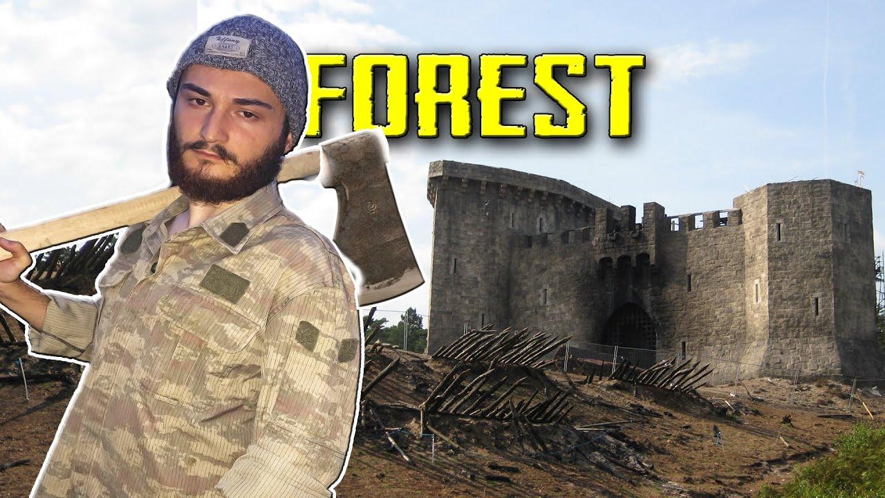 The Forest | SAVAŞ KALESİ İNŞA ETTİK - Bölüm 5