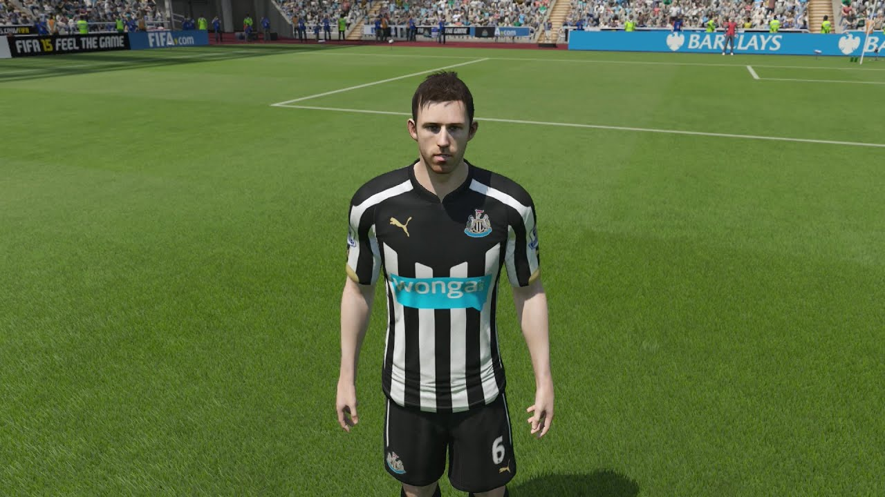 Newcastle United Player Faces