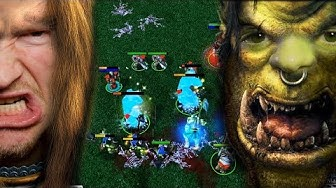 Wer braucht eine Goldmine? | Warcraft 3 gegen Johnny  -  GAME 2 | RTS Olympiade