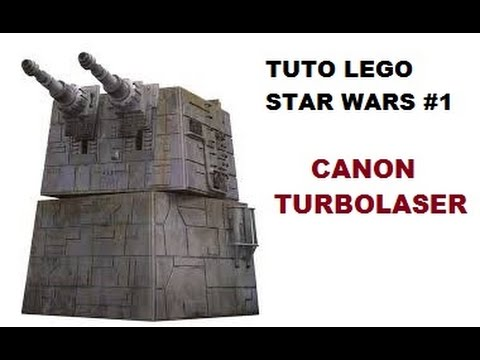 Tuto lego star wars 1 canon turbolaser youtube - Comment faire une ville lego city ...