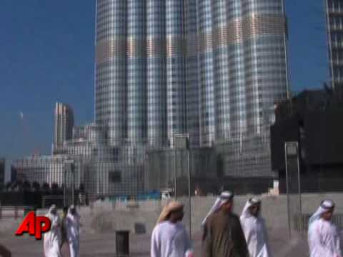 Dubai Renames World's Tallest Tower Burj Khalifa