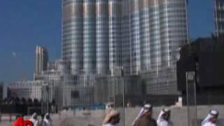 Dubai Renames World's Tallest Tower Burj Khalifa