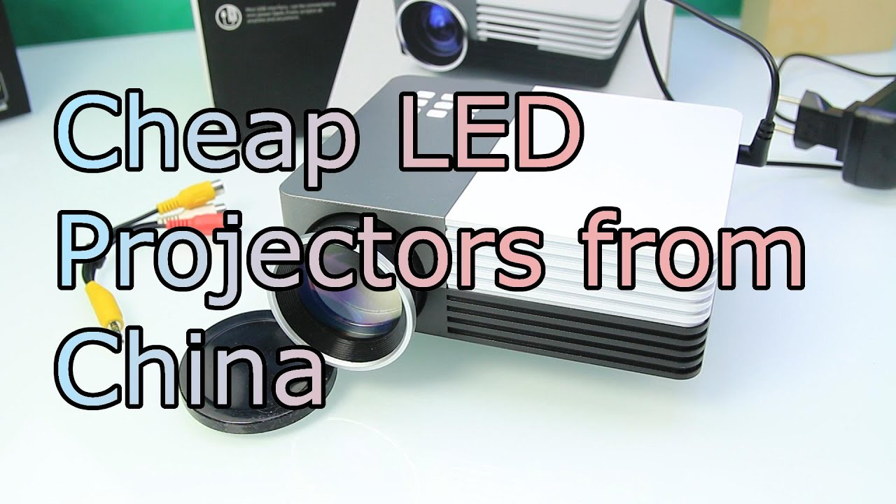 cheap led projectors from china how good are portable projectors