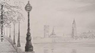 Dibujando paisajes: Cómo dibujar el Big Ben - Arte Divierte.