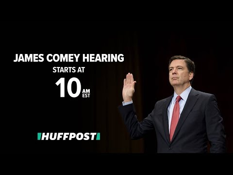 James Comey Testifies Before Senate Intel Committee