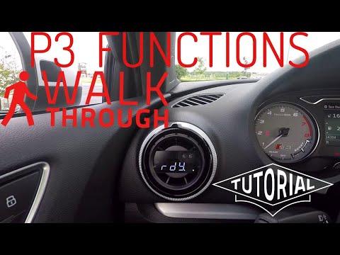 Functions of the P3 Gauge in my Audi S3